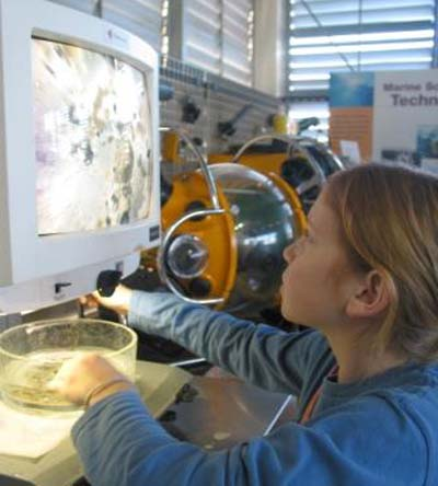 Education at the Sea Center